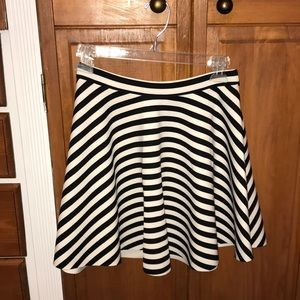 women's Abercrombie & Fitch striped skirt